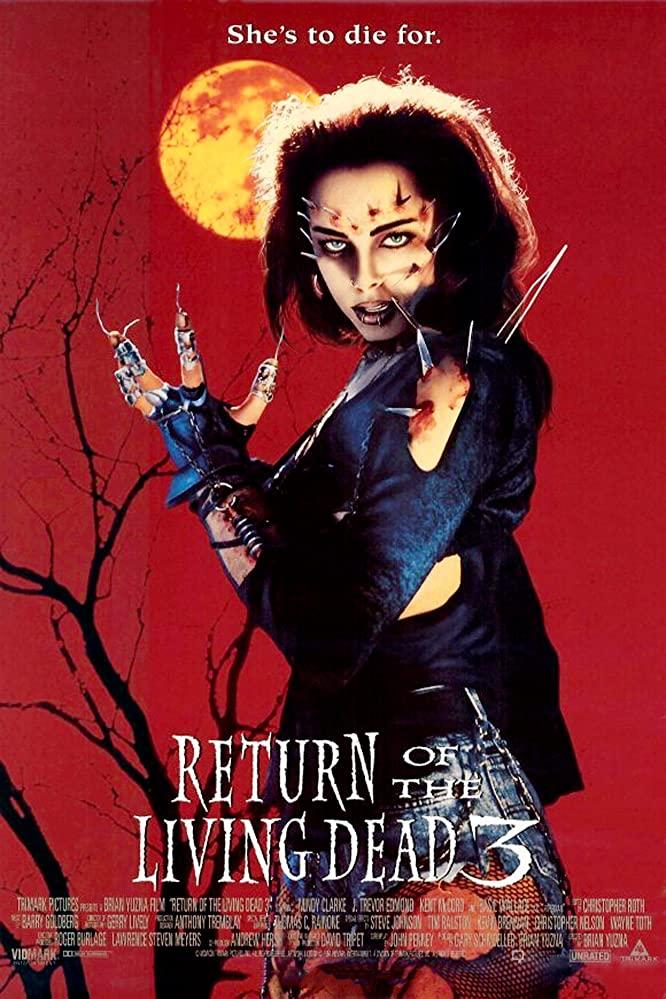 Return of the Living Dead III kapak