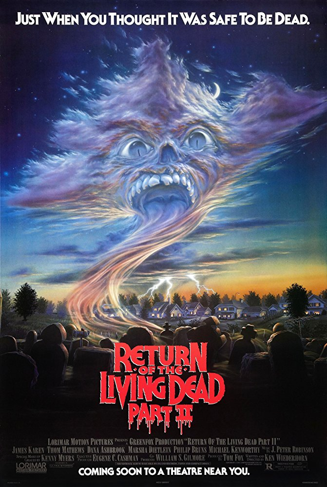 Return of the Living Dead: Part II kapak