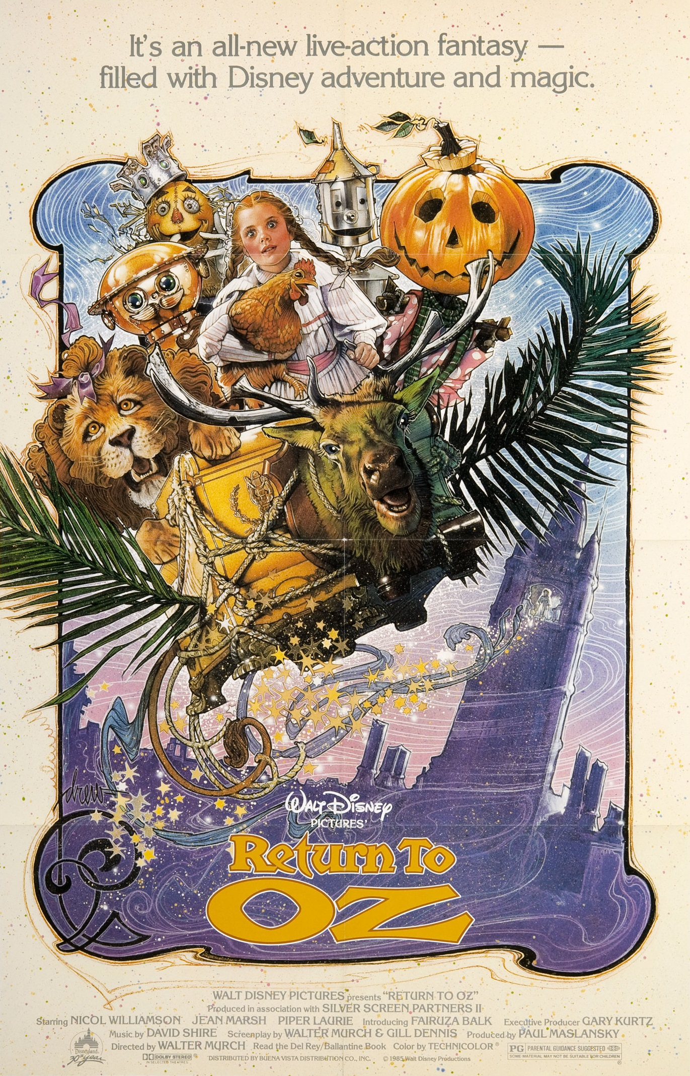 Return to Oz kapak