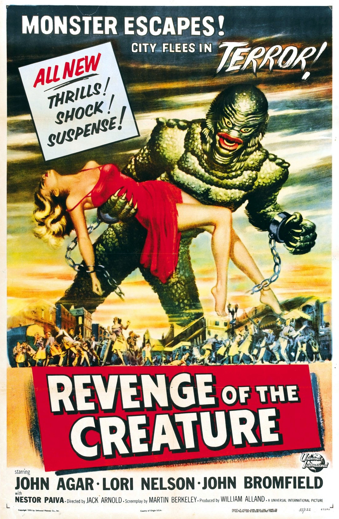 Revenge of the Creature kapak