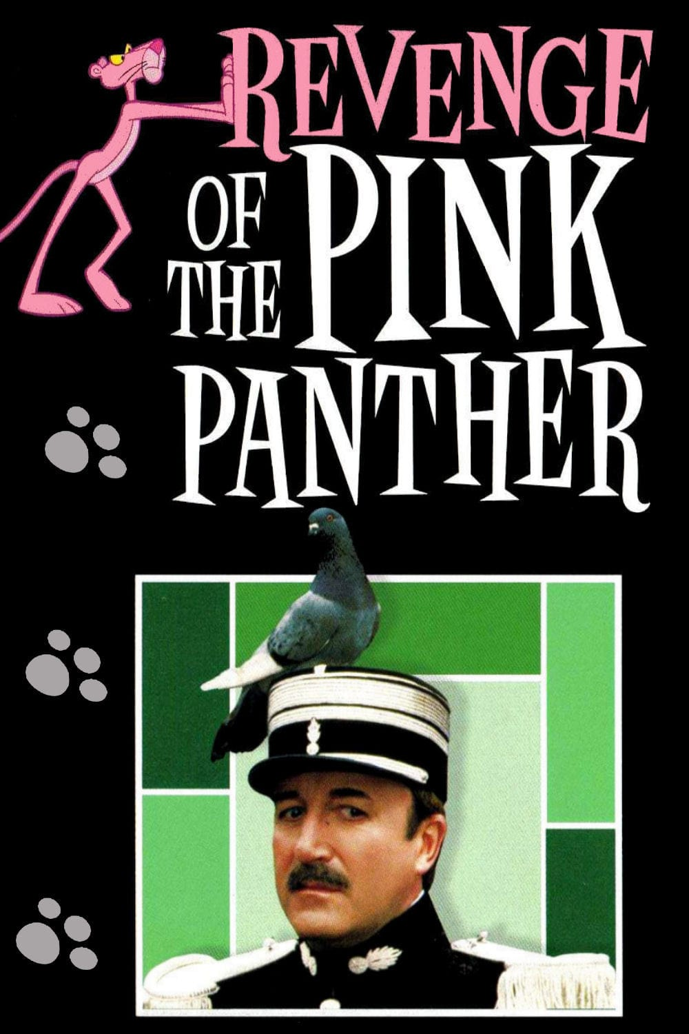 Revenge of the Pink Panther kapak