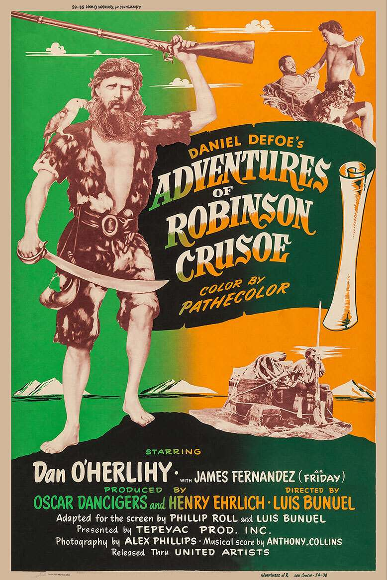 The Adventures of Robinson Crusoe kapak
