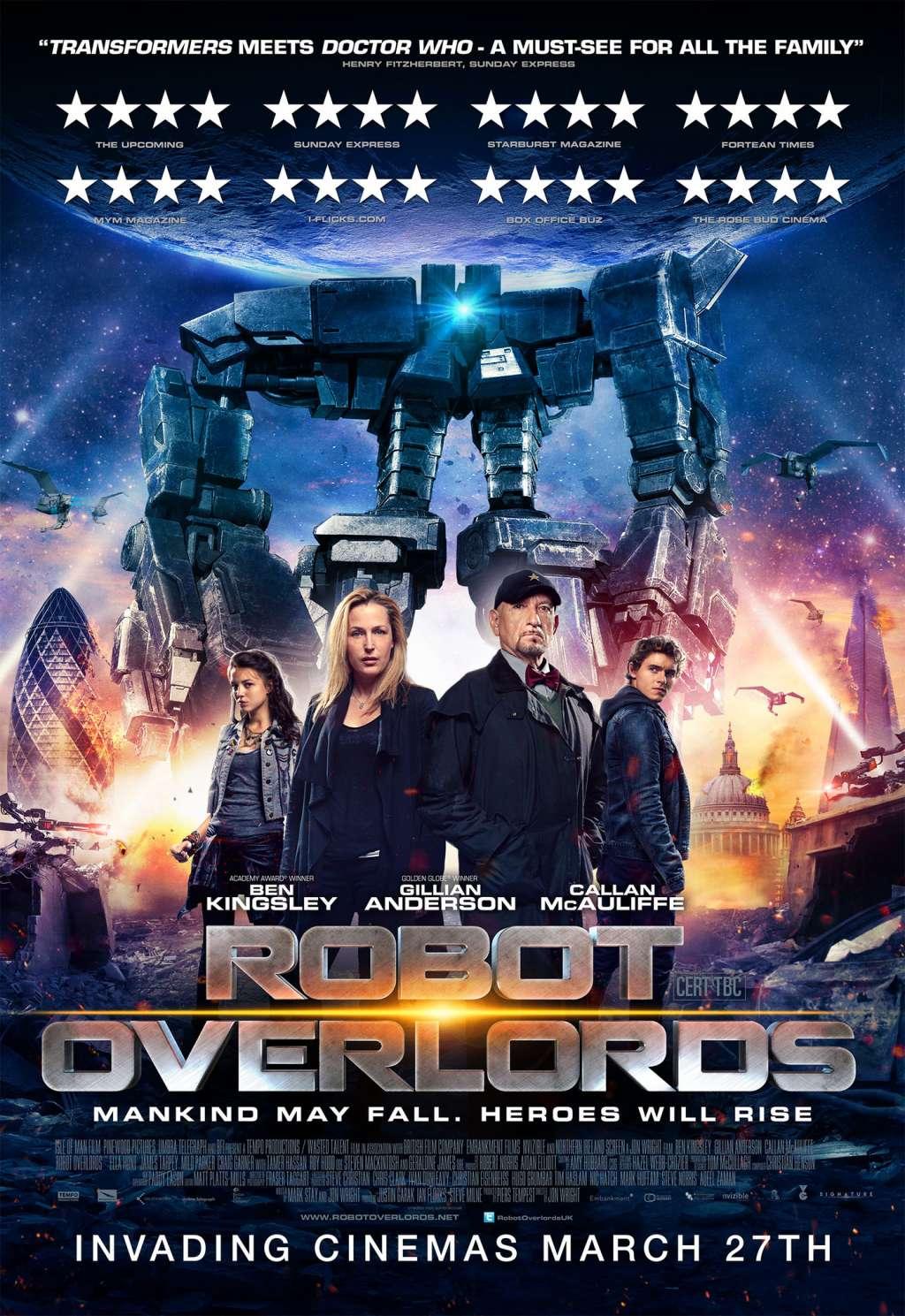 Robot Overlords kapak