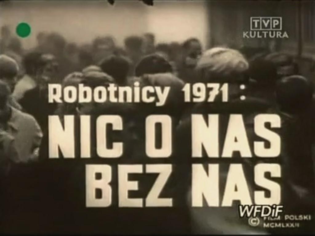 Robotnicy 1971 - Nic o nas bez nas kapak