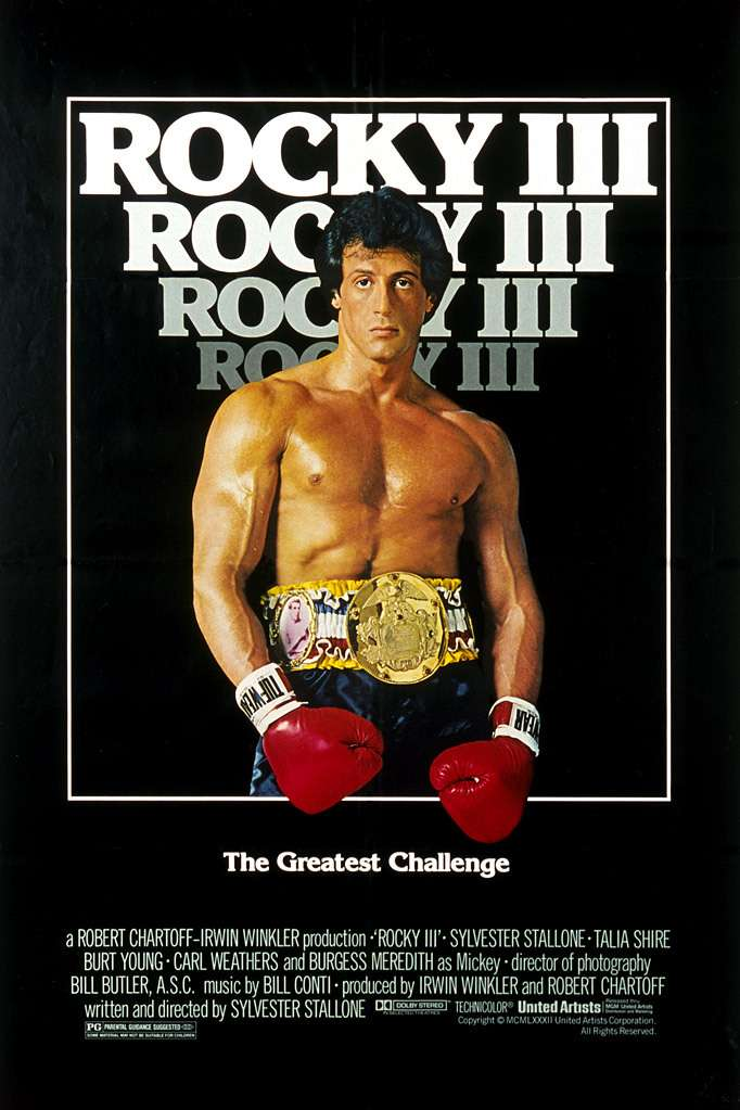 Rocky III kapak