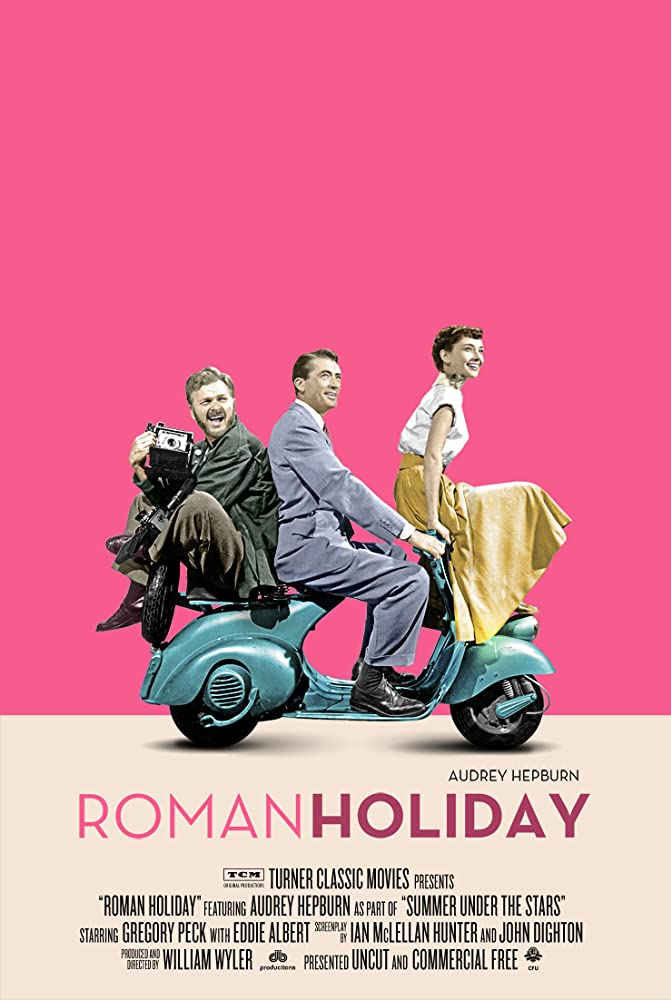 Roman Holiday kapak