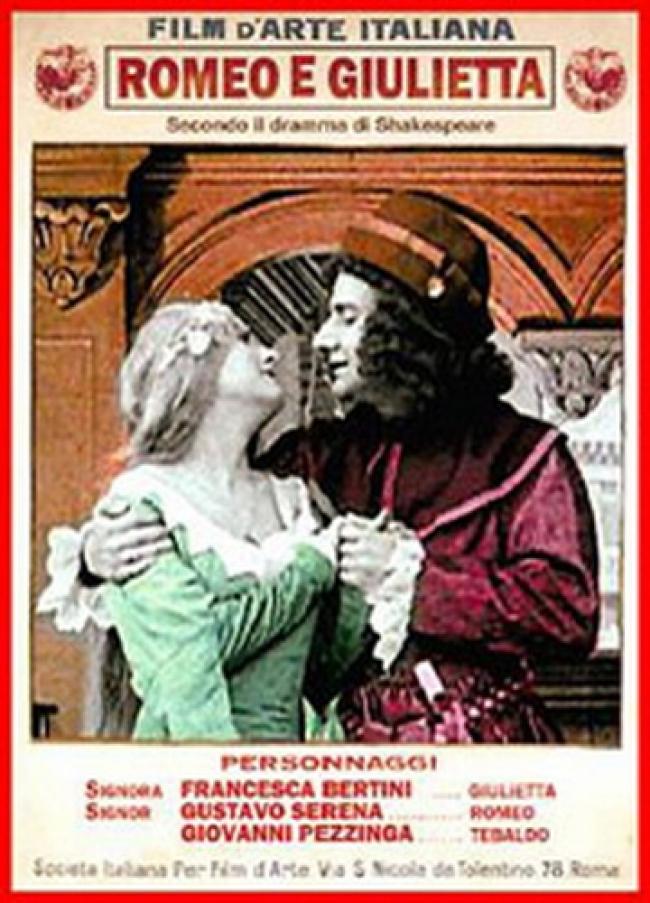 Romeo and Juliet kapak