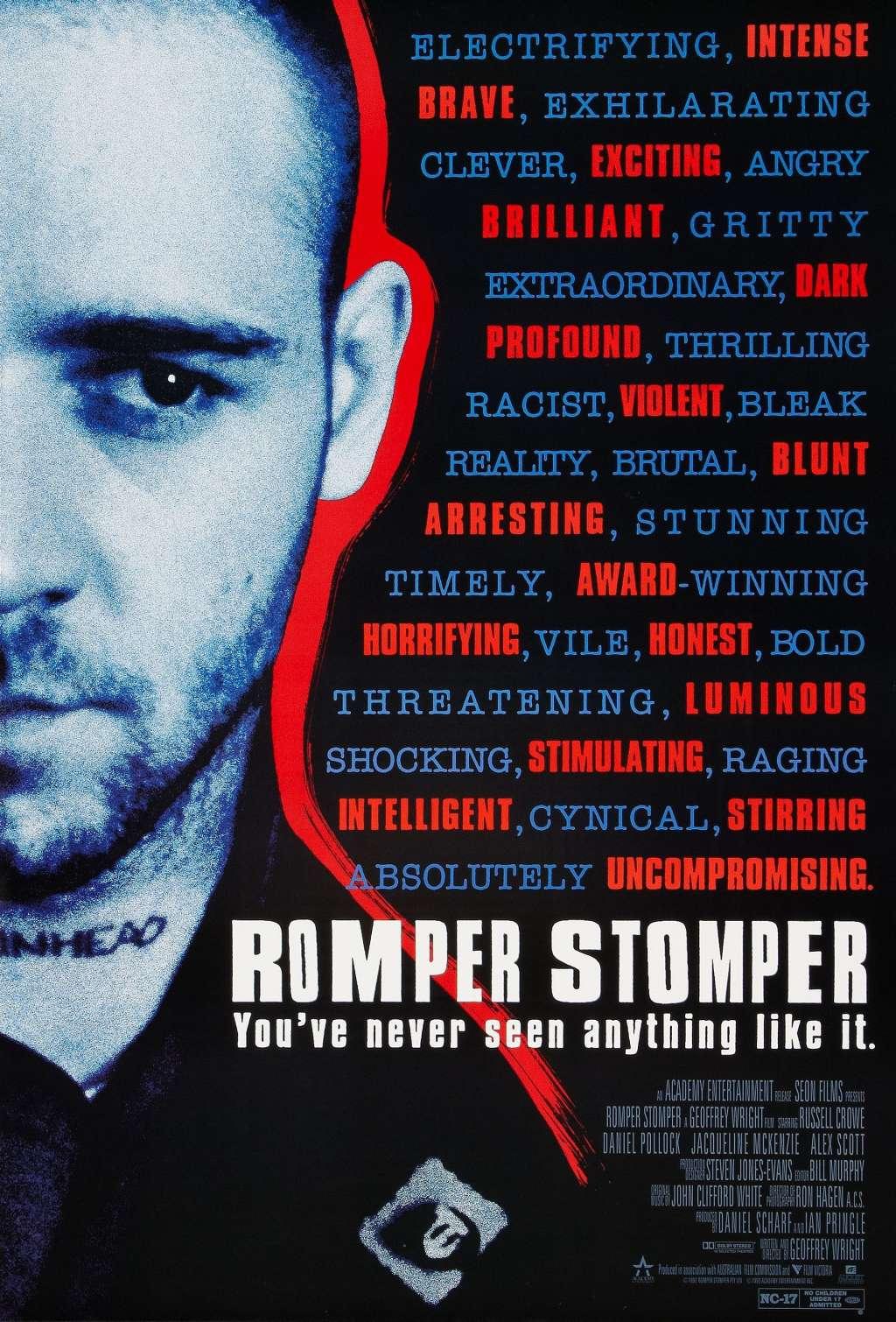 Romper Stomper kapak