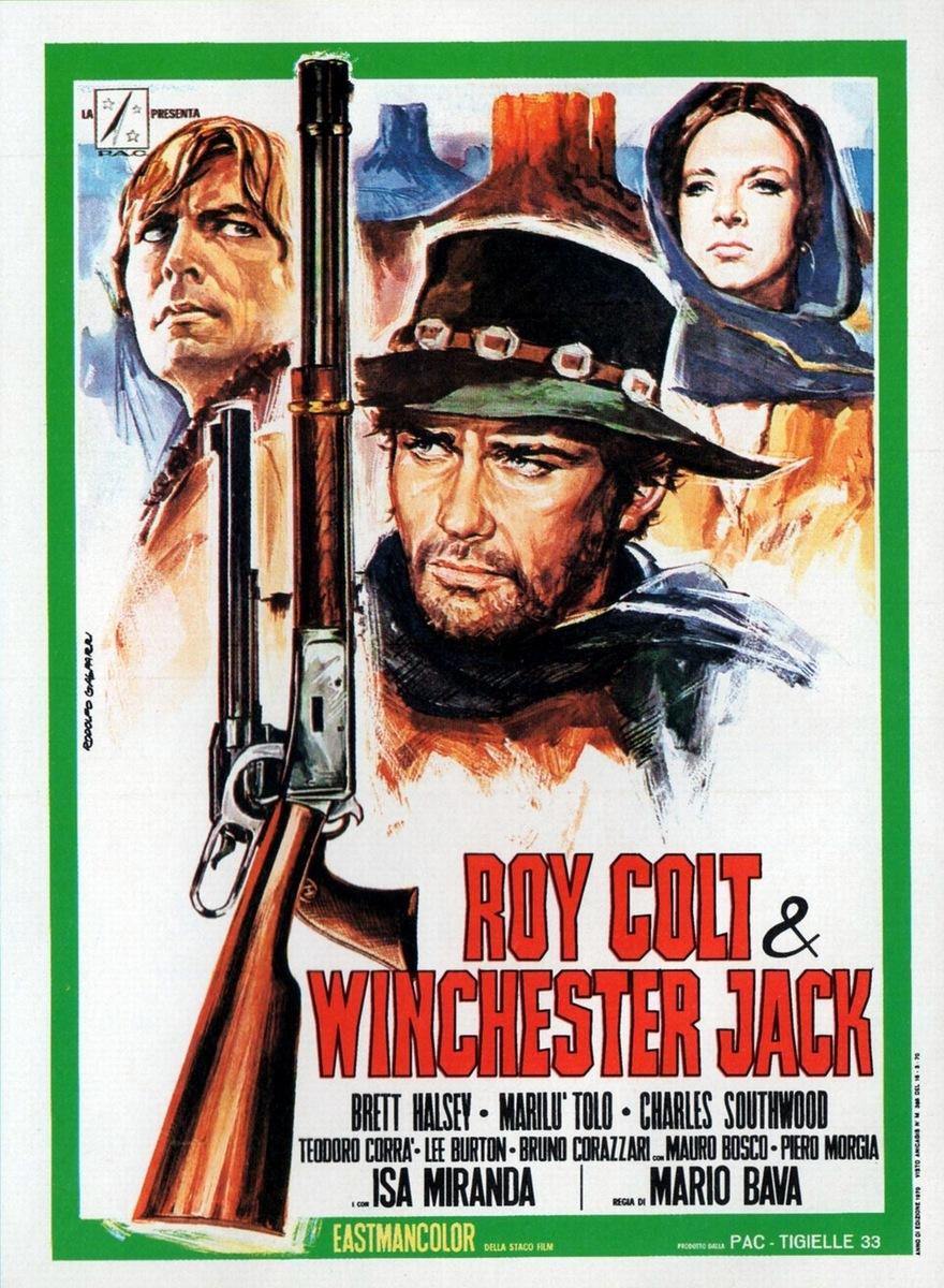 Roy Colt & Winchester Jack kapak