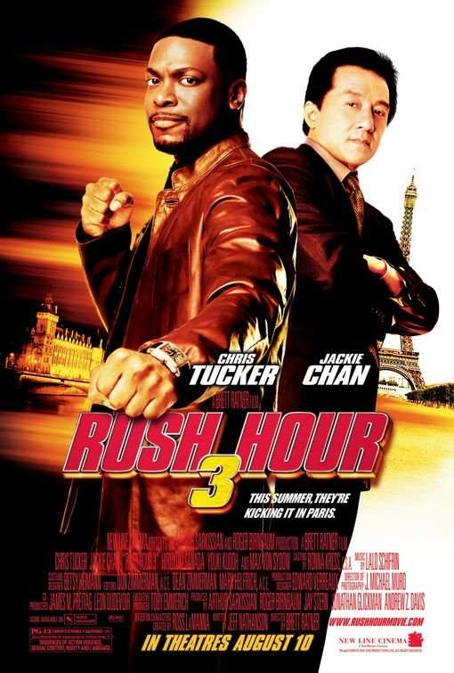Rush Hour 3 kapak