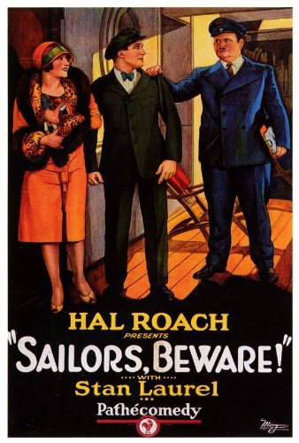 Sailors, Beware! kapak