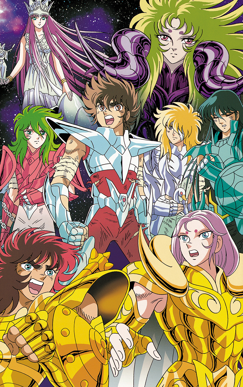Saint Seiya: The Hades Chapter kapak