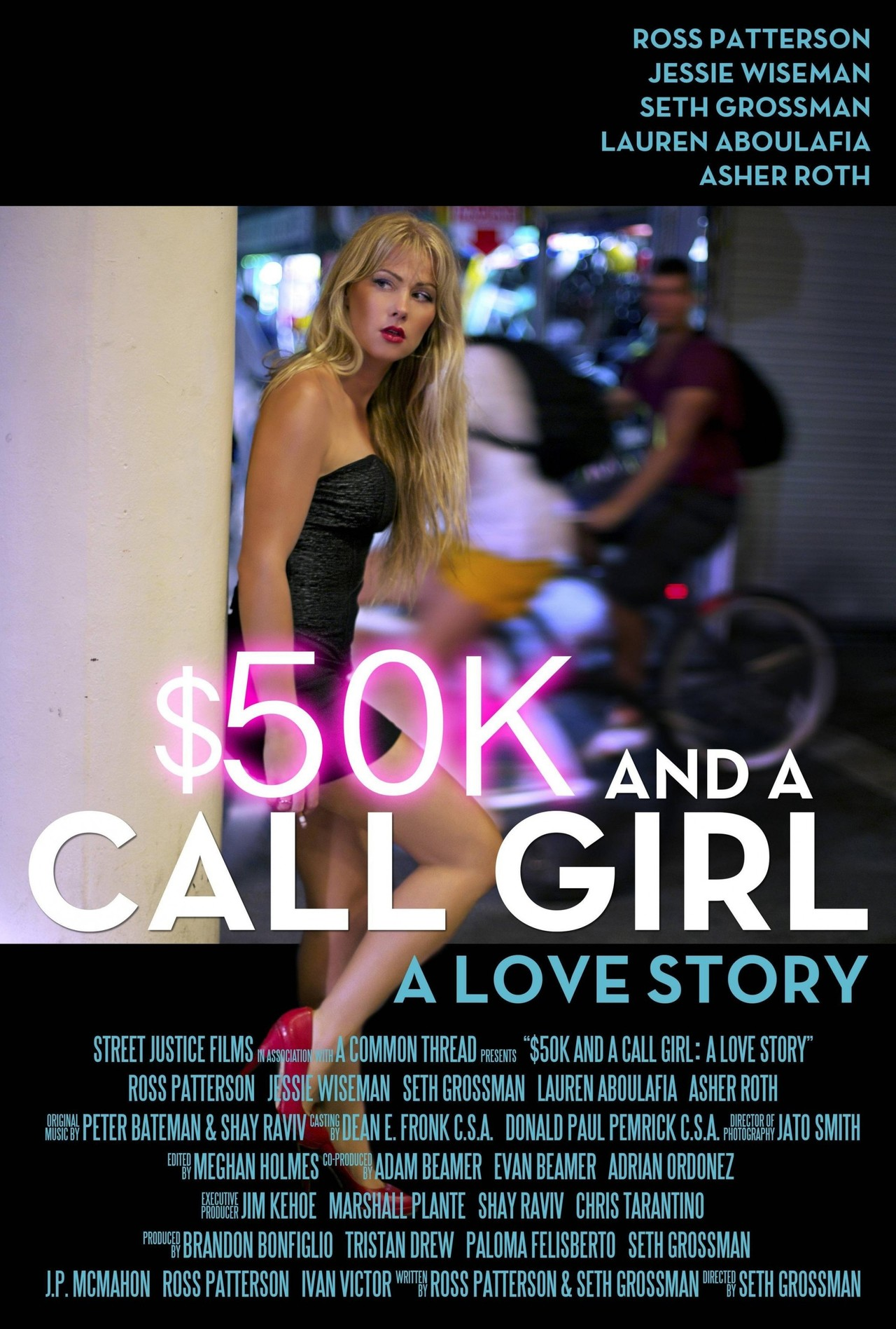 $50K and a Call Girl: A Love Story kapak