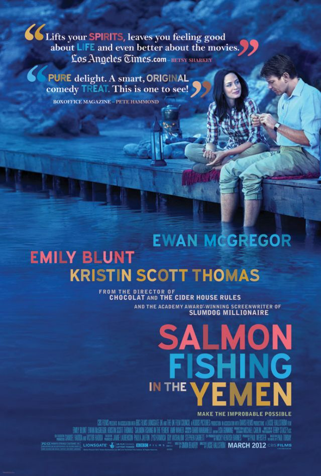 Salmon Fishing in the Yemen kapak