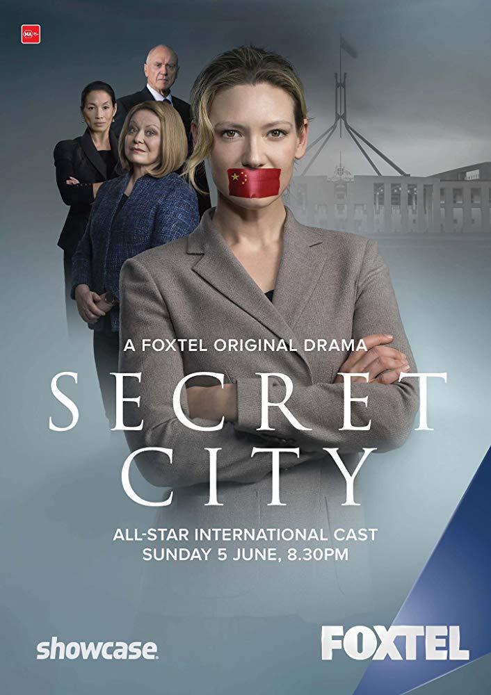 Secret City kapak