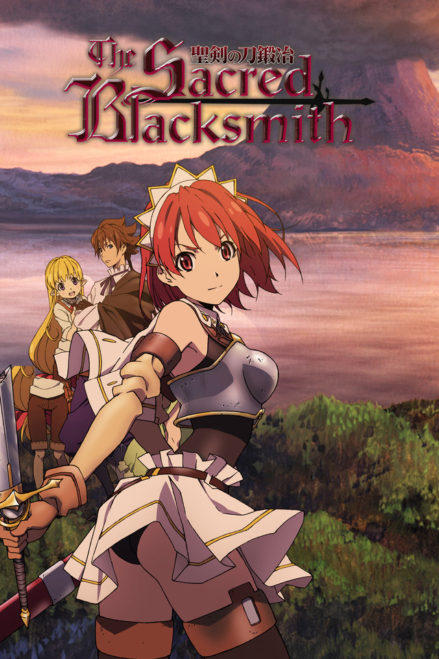 The Sacred Blacksmith kapak