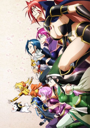 Battle Girls: Time Paradox kapak