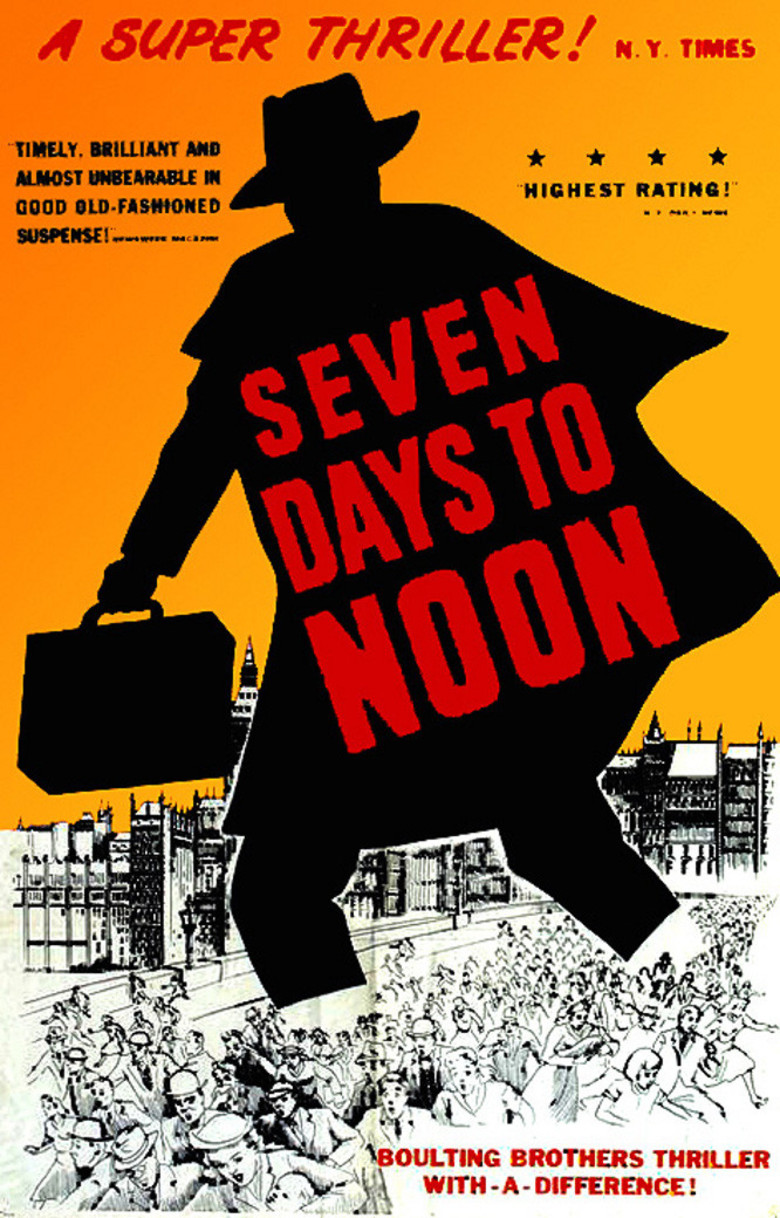 Seven Days to Noon kapak
