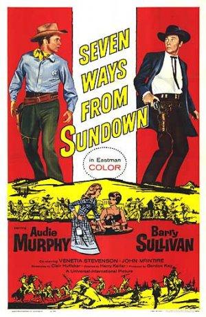 Seven Ways from Sundown kapak