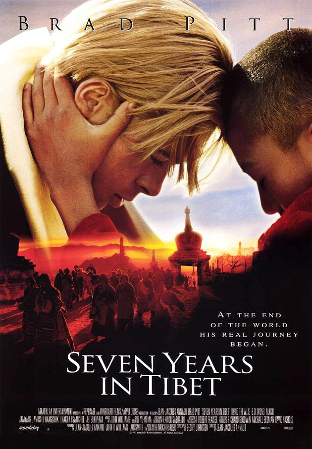 Seven Years in Tibet kapak