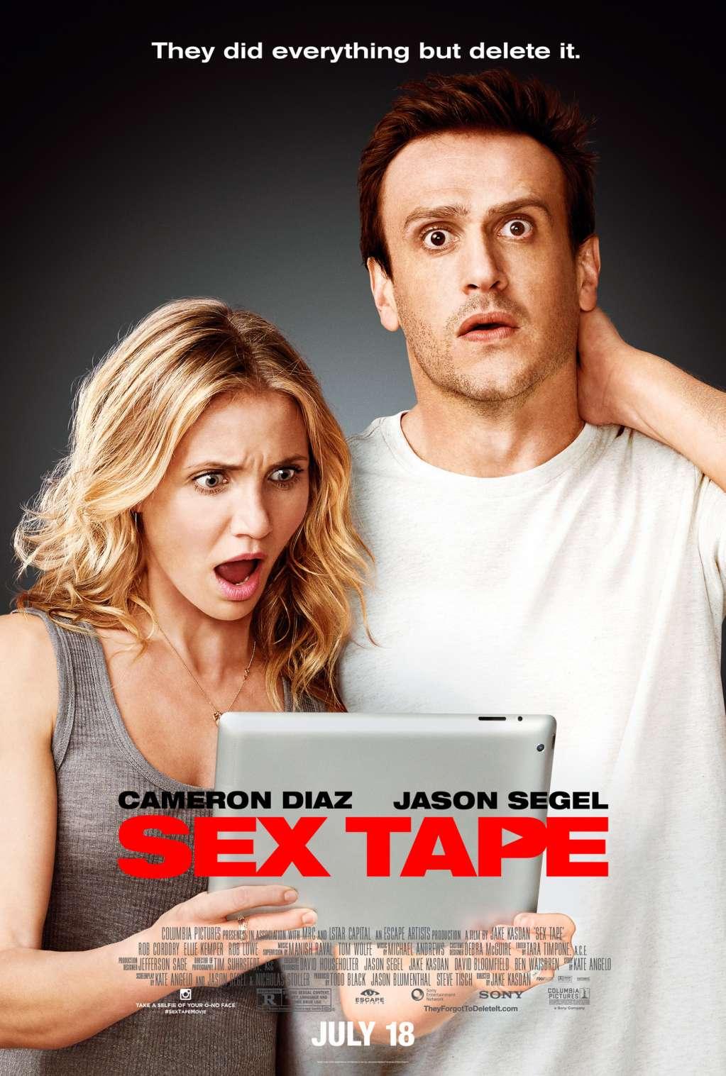 Sex Tape kapak