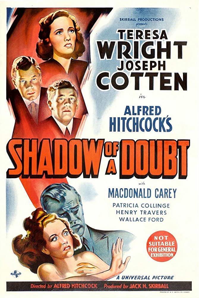 Shadow of a Doubt kapak