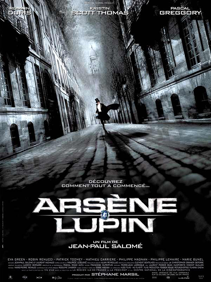 Adventures of Arsene Lupin kapak