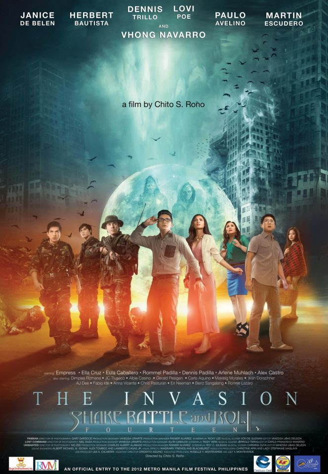 Shake Rattle and Roll Fourteen: The Invasion kapak