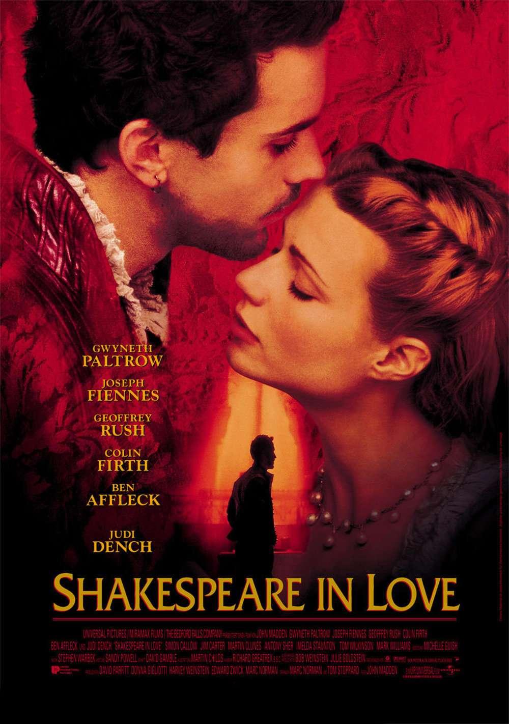 Shakespeare in Love kapak