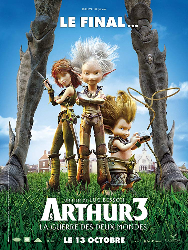 Arthur 3: The War of the Two Worlds kapak