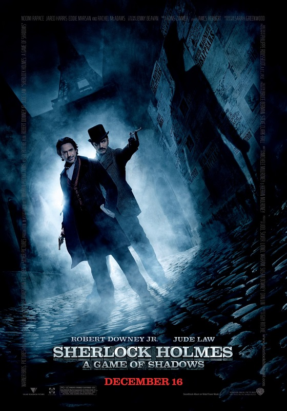 Sherlock Holmes: A Game of Shadows kapak