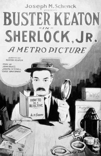 Sherlock Jr. kapak