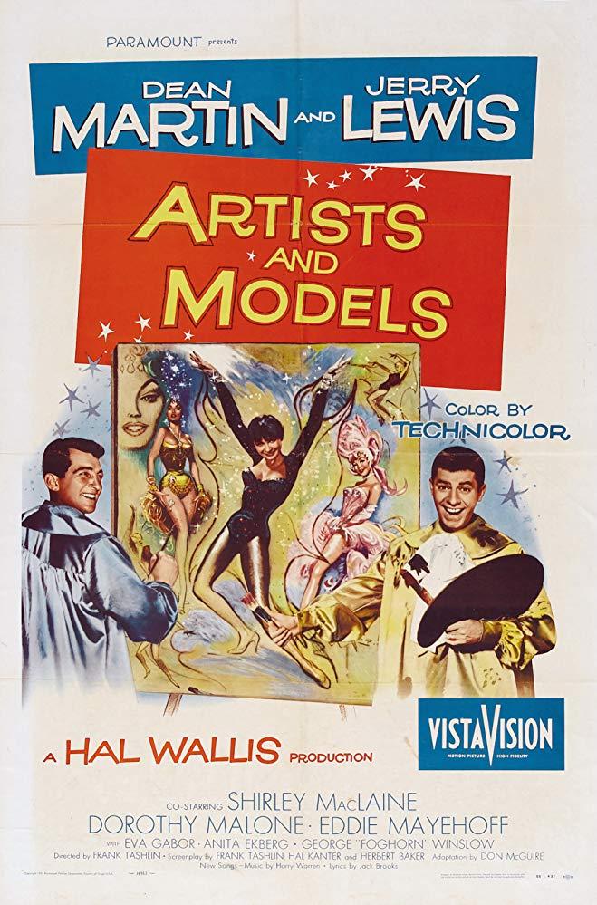 Artists and Models kapak