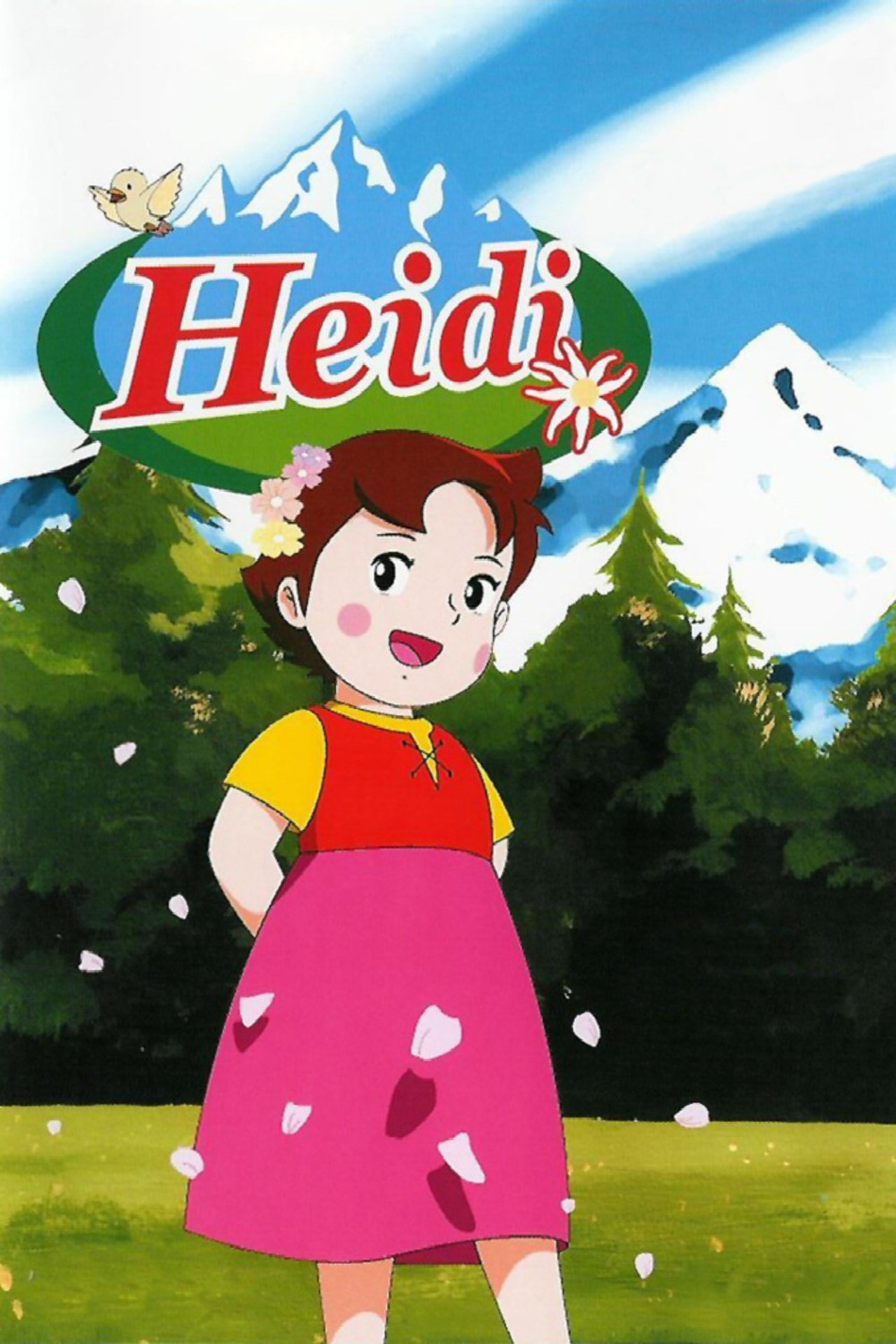 Heidi: A Girl of the Alps kapak