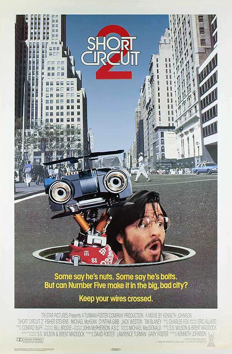Short Circuit 2 kapak
