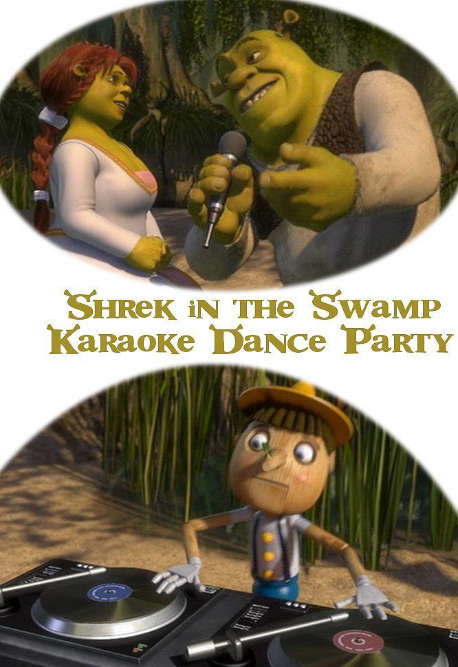 Shrek in the Swamp Karaoke Dance Party kapak