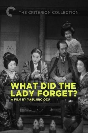 What Did the Lady Forget? kapak