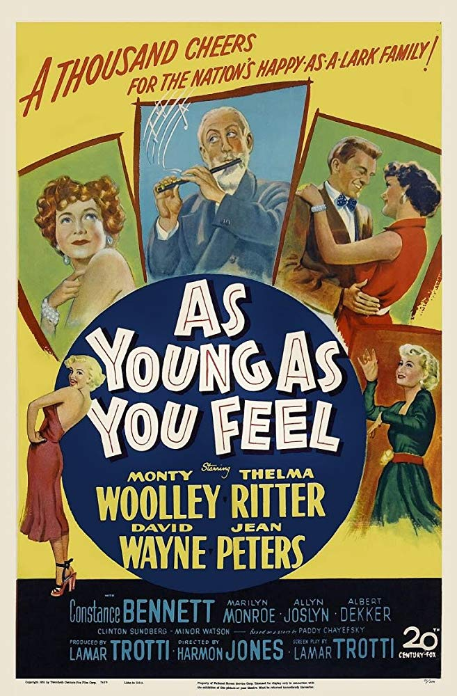 As Young as You Feel kapak