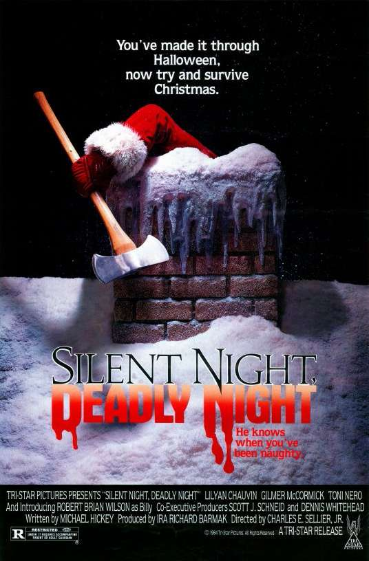 Silent Night, Deadly Night kapak