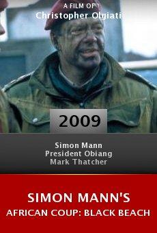 Simon Mann's African Coup: Black Beach kapak