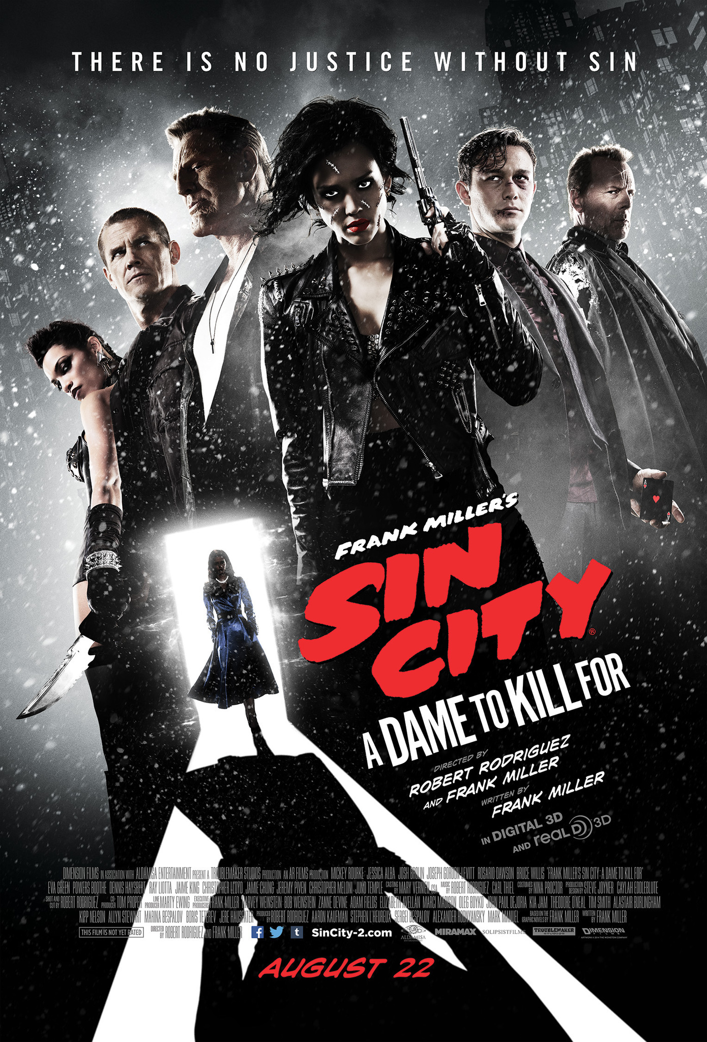 Sin City: A Dame to Kill For kapak