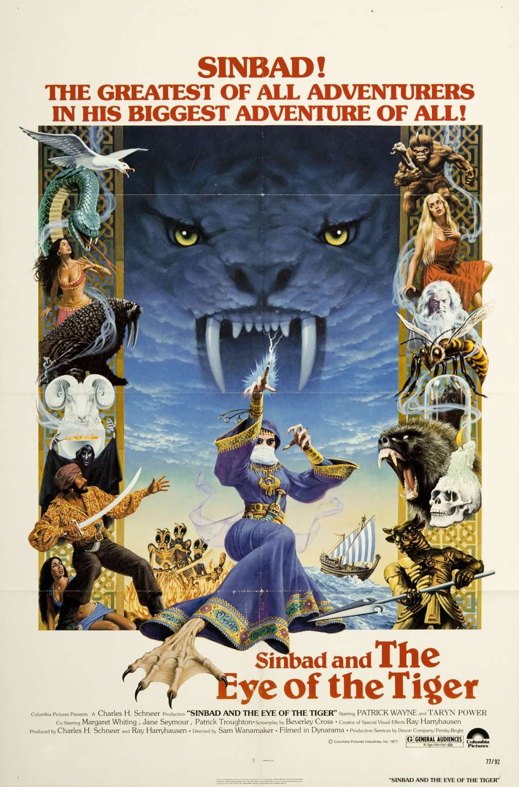 Sinbad and the Eye of the Tiger kapak