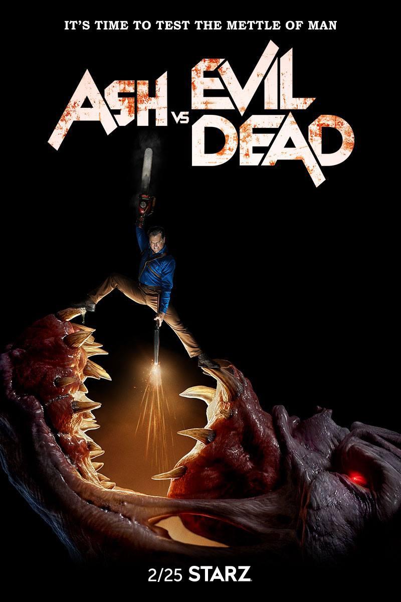 Ash vs Evil Dead kapak