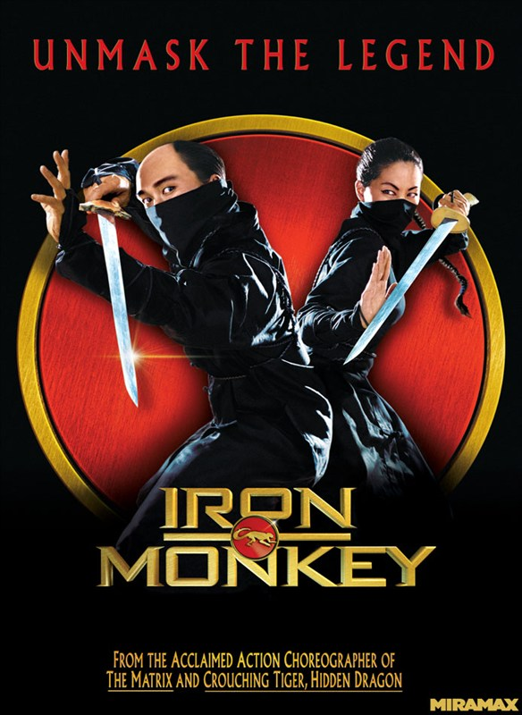Iron Monkey kapak