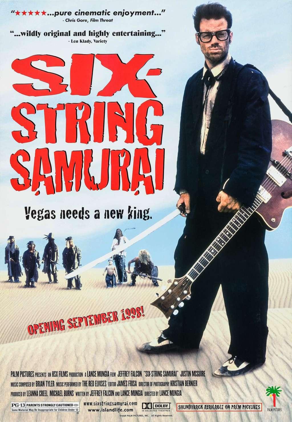Six-String Samurai kapak