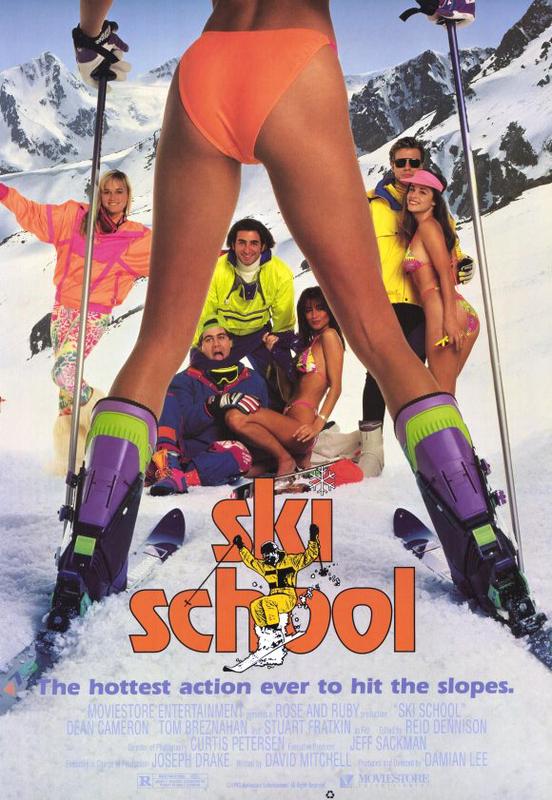 Ski School kapak