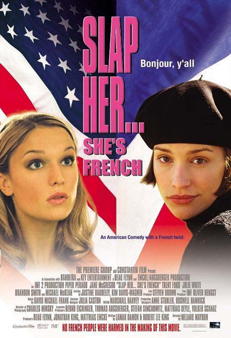 Slap Her, She's French! kapak