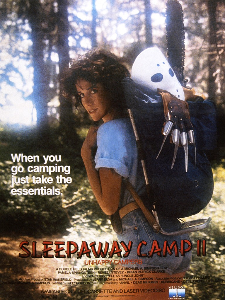 Sleepaway Camp II: Unhappy Campers kapak