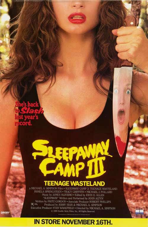 Sleepaway Camp III: Teenage Wasteland kapak