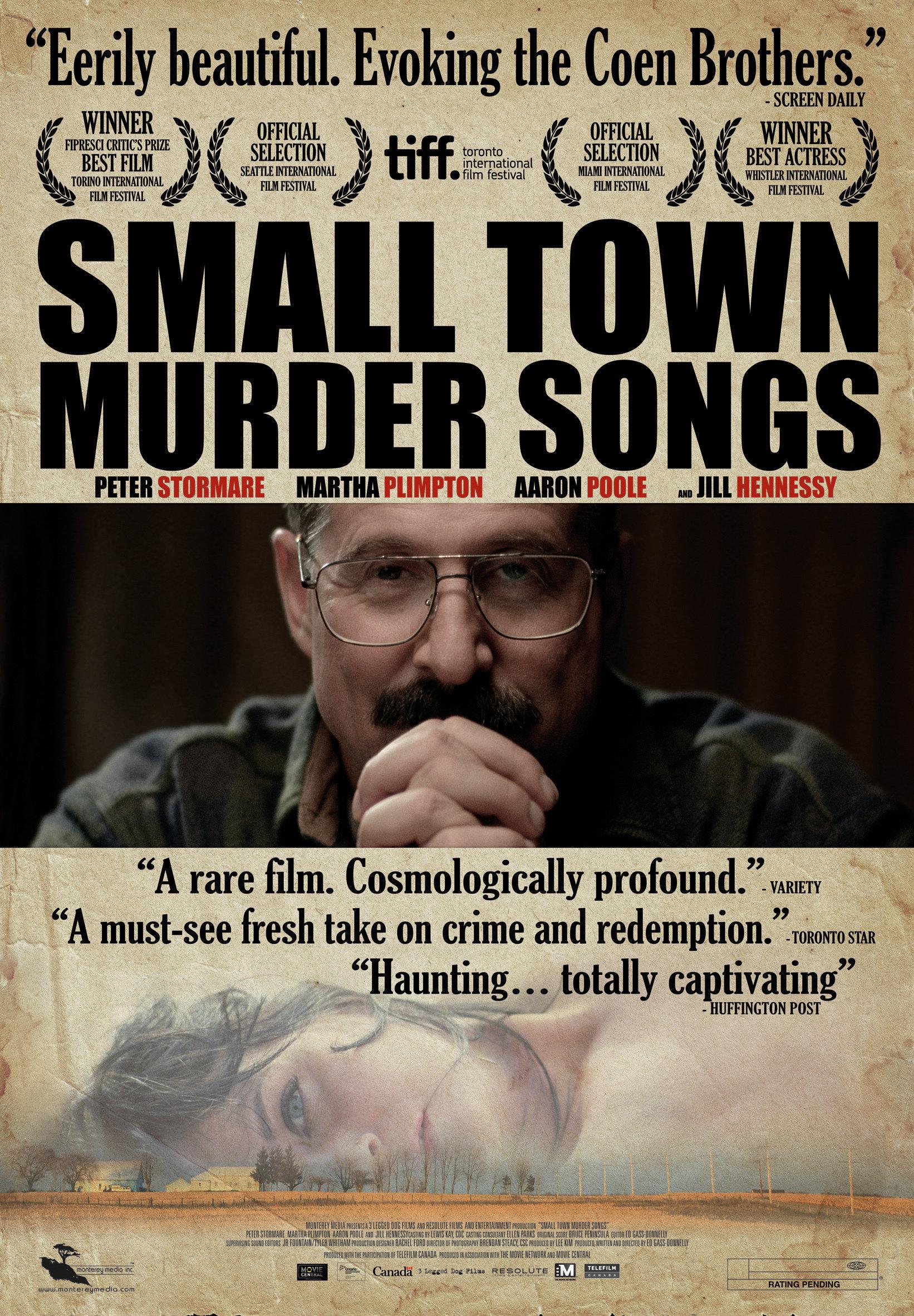 Small Town Murder Songs kapak